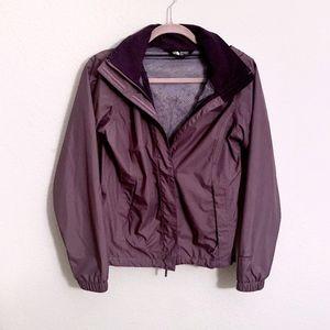 North Face Resolve 2 Rain Jacket (Eggplant Purple)